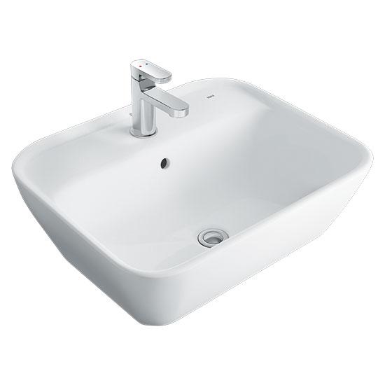 chau rua mat lavabo inax L-296V
