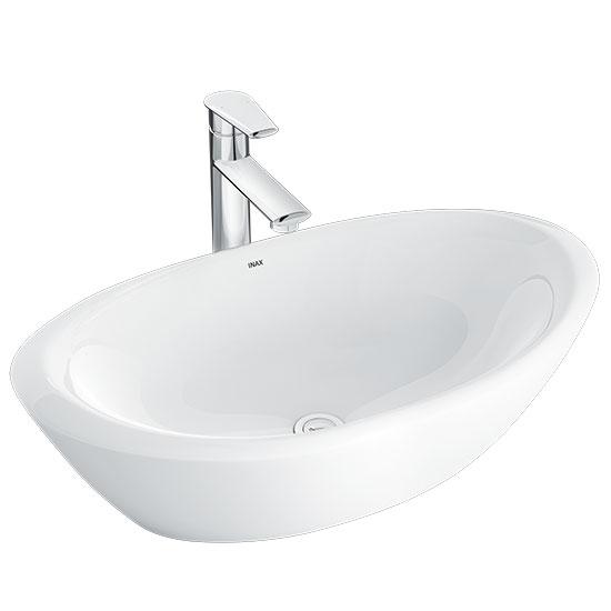 chau rua mat lavabo inax L-465V