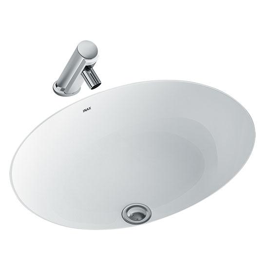 chau rua mat lavabo inax AL-2293V