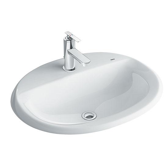 chau rua mat lavabo inax AL-2395V