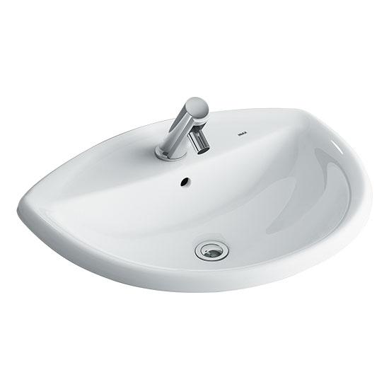 chau rua mat lavabo inax AL-2396V