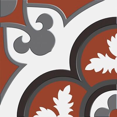 Gạch Bông Dồng Tâm Dấu Ấn - Sắc Hoa -GK026Q03